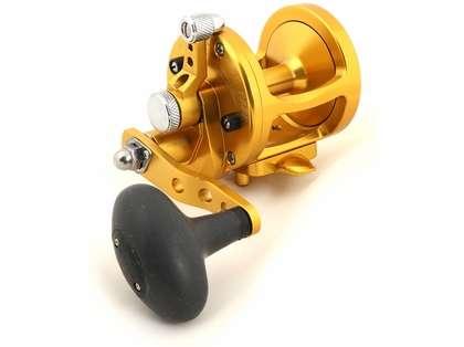 Avet MXL 5.8 Single Speed Lever Drag Casting Reel Left-Hand Gold
