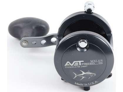 Avet MXL 6/4 2-Speed Reel - Gunmetal/Black (Blemished)
