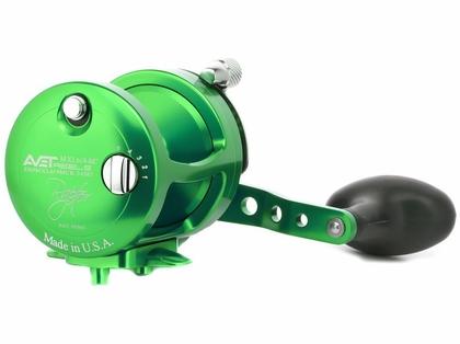 Avet MXL 6/4 MC Raptor 2-Speed Lever Drag Casting Reel Green