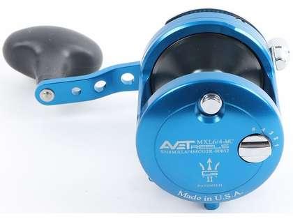 Avet MXL G2 6/4 MC 2-Speed Reel - Blue/Gun Metal Spool (Blemished)
