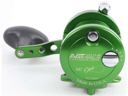 Avet SX 5.3 MC Single Speed Reel - Green (Blemished)