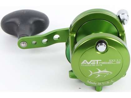Avet SX 5.3 Single Speed Reel - Green (Blemished)