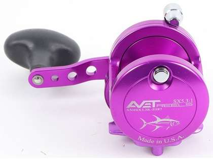 Avet SX 5.3 Single Speed Reel - Purple (Blemished)