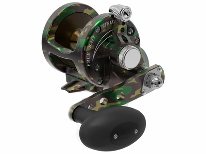 Avet SX 5.3 Single Speed Lever Drag Casting Reel Green Camo