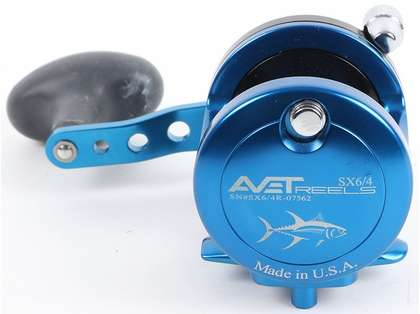 Avet SX 6/4 2-Speed Reel - Black (Blemished)