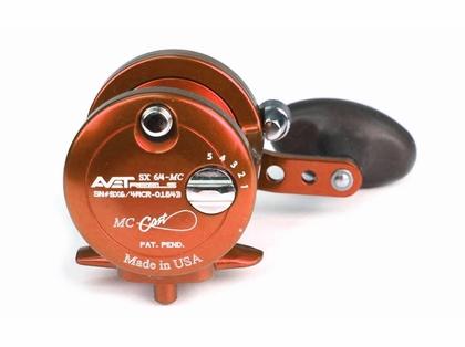 Avet SX 6/4 MC 2-Speed Lever Drag Casting Reel - Orange