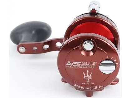 Avet SX G2 5.3 MC Single Speed Reel - Neptune's Heart (Blemished)