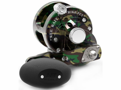 Avet SXJ 5.3 Single Speed Lever Drag Casting Reel - Green Camo