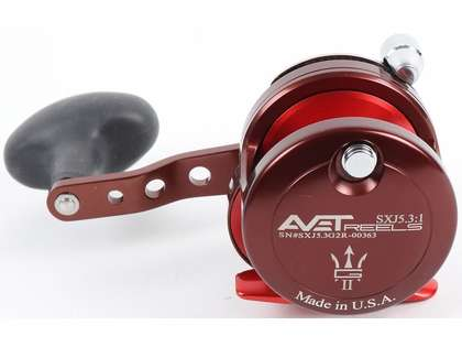 Avet SXJ G2 5.3 Single Speed Reel - Neptune Square (Blemished)