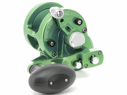 Avet SXJ 6/4 MC 2-Speed Lever Drag Casting Reel Green