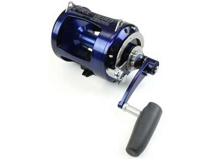 Avet TR-X 50W 2-Speed Lever Drag Big Game Reel Blue/Black Camo