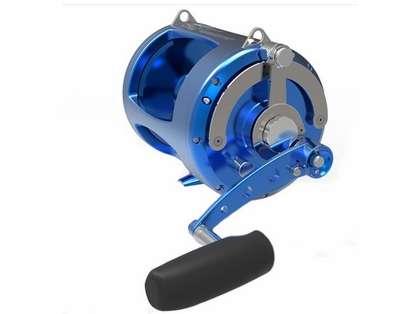 Avet TRX-80W 2-Speed Lever Drag Big Game Reel Blue LH