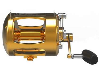 Avet TRX-80W 2-Speed Lever Drag Big Game Reel Gold