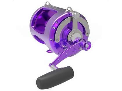 Avet TRX-80W 2-Speed Lever Drag Big Game Reel Purple