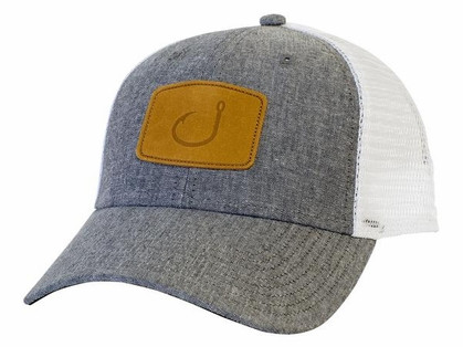 AVID Sportswear Lay Day Trucker Hat - Grey Chambrey
