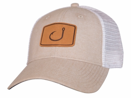 AVID Sportswear Lay Day Trucker Hat - Tan Chambrey