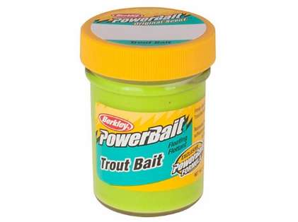 Berkley BTBC2 PowerBait Trout Bait - Chartreuse