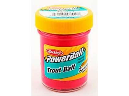 Berkley BTBFR2 PowerBait Trout Bait - Fluorescent Red