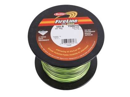 Berkley FB150050-TR Fireline Tracer Braid Bulk - 1500yds