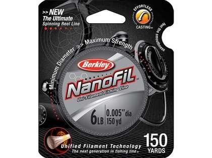 Berkley Nanofil Filler Spools 150yd Clear Mist