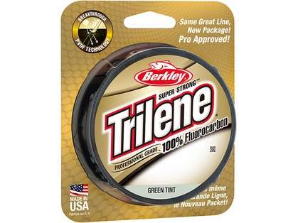 Berkley Trilene 100% Fluoro Pro Grade 17-25lb 200yds Green Tint