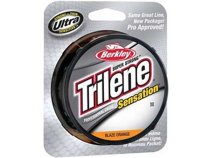 Berkley Trilene Sensation Pro Grade 10-17lb 330yds Blaze Orange 12lb