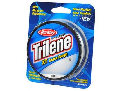 1 Spool Berkley Trilene XT Extra Tough Clear Mono Line 30 Pound Test 220 Yards