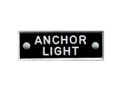 Bernard IP001 'Anchor Light' 1.5in Identi-Plate
