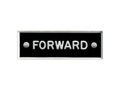 Bernard IP008 'Forward' 1.5in Identi-Plate