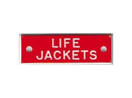 Bernard IP010 'Life Jacket' 1.5in Identi-Plate