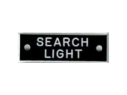 Bernard IP021 'Search Light' 1.5in Identi-Plate