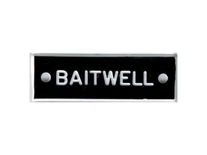 Bernard IP035 'Baitwell' 1.5in Identi-Plate