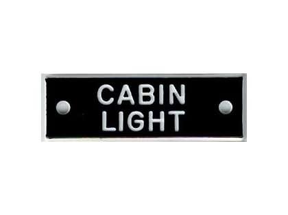 Bernard IP038 'Cabin Light' 1.5in Identi-Plate