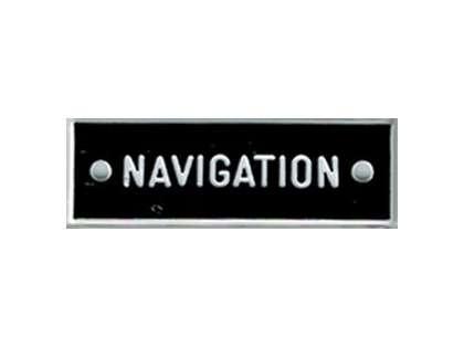Bernard IP064 'Navigation' 1.5in Identi-Plate
