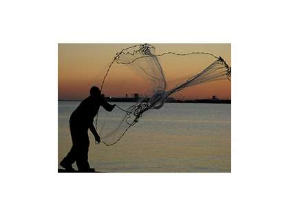 Betts 7HMPB Hi Tider Lead Weight Casting Net