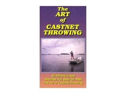 Betts Castnet DVD The Art of Castnet Throwing
