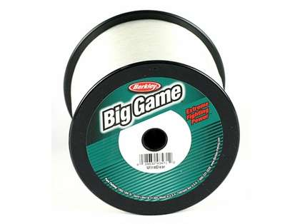 Berkley Trilene Big Game 3 Lb. Spool  100 Lb. Test Clear