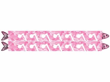 Big Daddy Fishing Rod Racks - 10 Rod Rack - Pink Camo