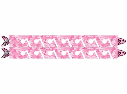 Big Daddy Fishing Rod Racks - 7 Rod Rack - Pink Camo