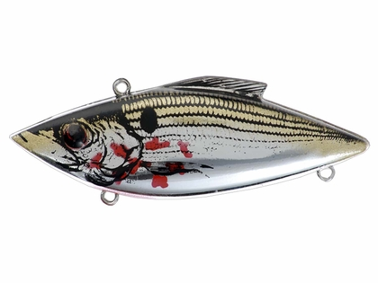 Bill Lewis Rat-L-Trap Original (RT) 37C BLEEDING SHINER ON CHROME