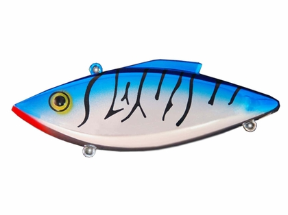 Bill Lewis Rat-L-Trap Original (RT) W1 CHROME/BLUE BACK/BLACK STRIPE