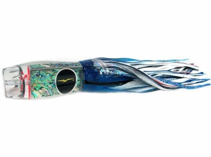 Black Bart Heavy Tackle Lures Ascension ProJet Blue Foil/White BL/WH
