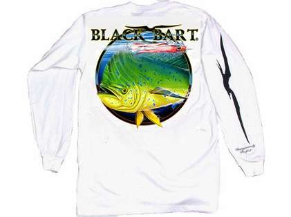 Black Bart Bull Dolphin Long Sleeve T-Shirts