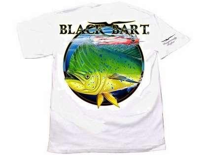 Black Bart Bull Dolphin Short Sleeve T-Shirts