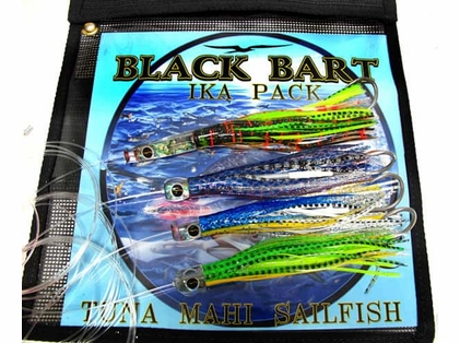 Black Bart Ika Lure Pack - Hotuna / Beast / Ika / Zen