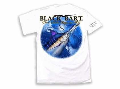 Black Bart ''One Look Says It All'' Short Sleeve T-Shirt White XXL