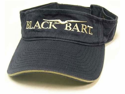 Black Bart Visor Navy
