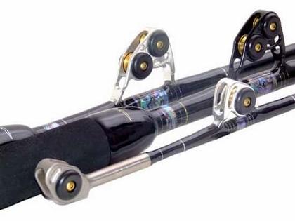 Black Bart WT50 Black/Gold Blue Water Pro 50lb Standup Stroker Rods