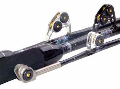 Black Bart WT50 Black/Silver Blue Water Pro 50lb Standup Stroker Rods