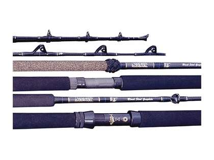 Seeker Black Steel Series Rods